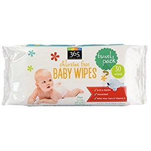 365 Everyday Value Baby Wipes Travel Size, 30 Count