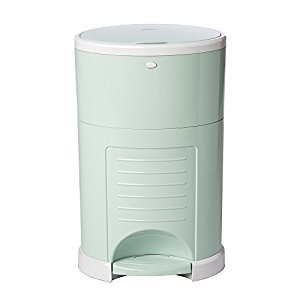 Dekor Plus Hands-Free Diaper Pail, Soft Mint
