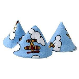 Pee-pee Teepee Airplane Blue - Cello Bag