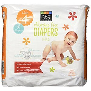 365 Everyday Value Diapers Size 4, 31 Count