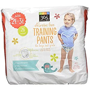 365 Everyday Value Training Pants Size 2T-3T, 26 Count