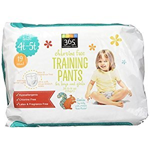 365 Everyday Value Training Pants Size 4T-5T, 19 Count