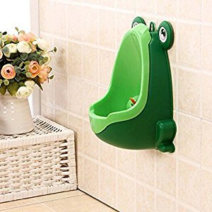 Frog Children Potty Toilet Training Kid Urinal for Boy Pee Trainer Bathroom Green