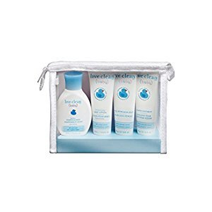 Live Clean Diaper Bag Essentials Gift Set, Trial Size