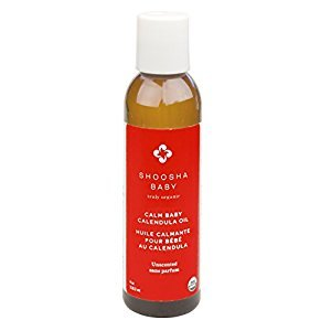 Shoosha Calm Baby Calendula Oil, Unscented