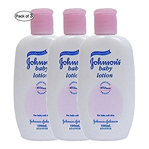 Johnson's Baby Lotion (100ml) (Pack of 3)