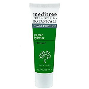 Meditree Tea Tree Hydrator with Tea Tree Oil, Willowbark, Aloe Vera, and Chamomile | Soothing Daily Cleanser | 50g Tube
