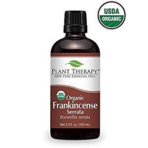 Organic Frankincense Serrata Essential Oil. 100 ml (3.3 oz). 100 Pure, Undiluted, Therapeutic Grade.