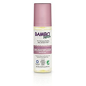 Bambo Nature Splish Splash Bath Oil, 4.9 fl oz Bottle