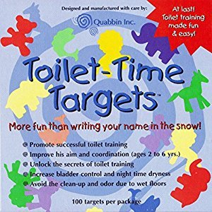 Quabbin Toilet Targets Training Products for Boys