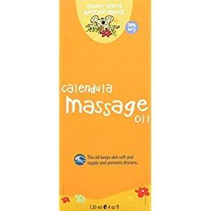 Souris Verte 902 Natural Organic Baby Bath and Massage Oil, 120ml