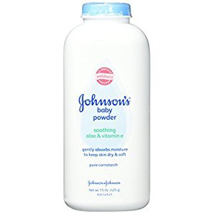 Johnsons Baby Powder Soothing Aloe And Vitamin E 15oz