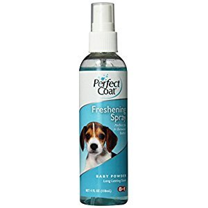 Perfect Coat Freshening Spray, Baby Powder Scent, 4-Ounce (I6688)
