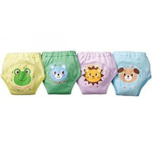 Baby Boy Toddler 4 Layers Washable Diaper Potty Training Pants(pack of 4 pieces)