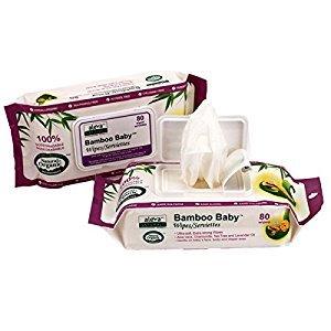 ALEVA - Bamboo Baby Wipes - 80 Wipes