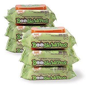 Boogie Wipes Boogie Wipes 30 Count (Pack of 6)
