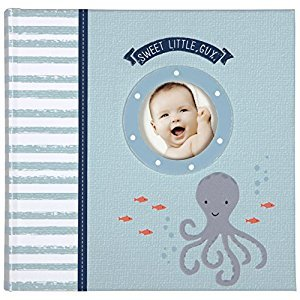 CRG Carter's Slim Bound Photo Journal Album, Under The Sea