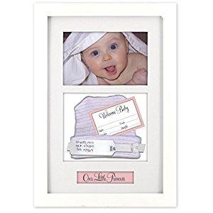 Malden Baby Memories Picture Frame, Baby Memoto Shadowbox, 4-Inch X 6-Inch