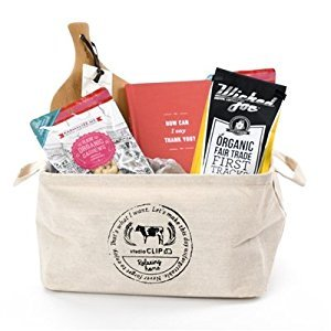 Organic Thank You Gift Basket - Artisan Treats