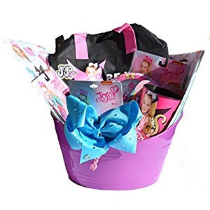 The Ultimate Collection - JoJo Siwa's Dream Gift Basket for Birthdays, Holidays, Get Well, Good Luck Gift Basket Bundle, 11 Piece
