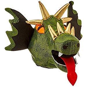 Beistle 60628 Plush Dragon Hat