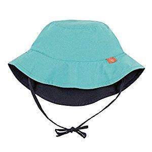 Lassig Baby Sun Protection Bucket Hat UV-Protection 50 Plus-Aqua, Size: Infant, 6-18-Month