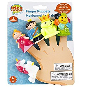 Disney Idea Factory Finger Puppets, Prince & Princess