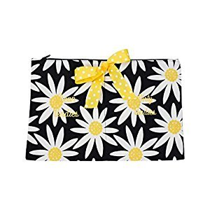 Caught Ya Lookin' Clean/Dirty Undies Bag, Daisy Mae/Black/Yellow/White
