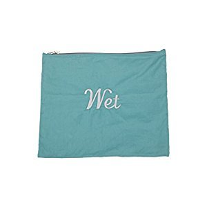 Caught Ya Lookin' New Stinky Bag, Teal Cotton/Blue/Gray