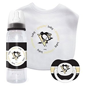 NHL Pittsburgh Penguins Baby Gift Set