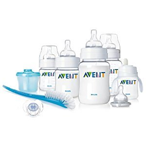 Philips AVENT SCD265/01 BPA Free Classic Infant Starter Gift Set
