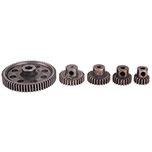 Chinatera 5pcs RC Crawler Accessories or HSP Truck Differential Main Metal Spur Motor Gear