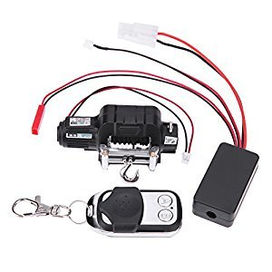 Chinatera RC Crawler Car Winch Wireless Remote Control Receiver for 1:10 for Traxxas Hsp