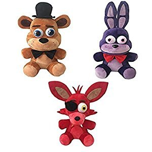 Five Nights at Freddy's Plush Toy 3pc Set 6.5
