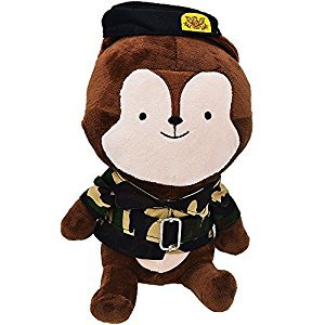 MKLOT Stuffed Animals Descendants Of The Sun Cartoon Dolls Camouflage Fox Anime Toys - 15.75inches