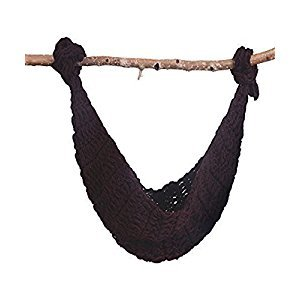 UOMNY Baby Newborn Photography Props Hammock Handmade Crochet Knitted Unisex Baby Cap Outfit photo prop (Brown)