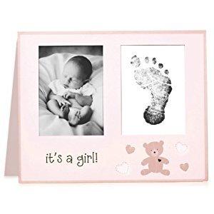 L'il Peach Bear Birth Announcement Set (Pink)