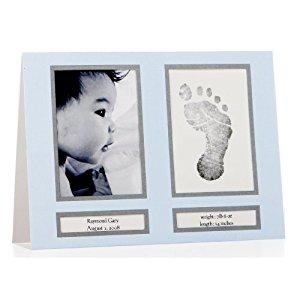Pearhead Birth Announcement (Blue)