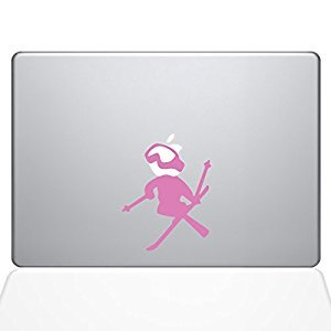 The Decal Guru Skiing decal Apple Decal Vinyl Sticker, 13