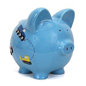 Child to Cherish Construction Piggy Bank, Truck Room