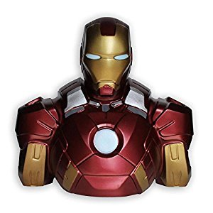 Marvel Deluxe Piggy Bank Iron Man