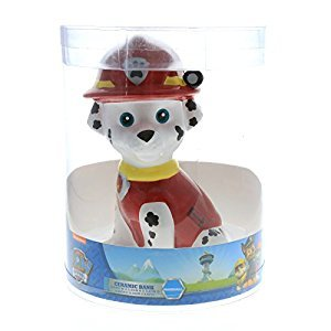 Paw Patrol Marshall Mini Ceramic Bank