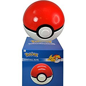 Pokemon Pokeball Ceramic Bank in a Color Box