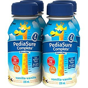 Pediasure Complete Vanilla, 235mL Bottle, 4-Pack