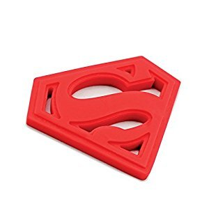 Bumkins DC Comics Teether - Superman, BK308