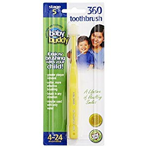Baby Buddy 360 Toothbrush Step 1, Yellow