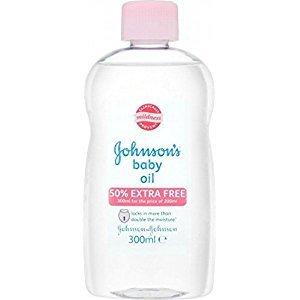 Johnson's Baby Oil (300ml) - Pack of 6