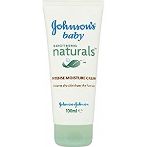 Johnson's Baby Soothing Naturals Intense Moisture Cream (100ml) - Pack of 6