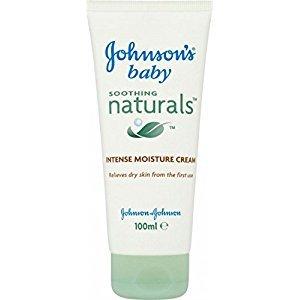 Johnson's Baby Soothing Naturals Intense Moisture Cream (100ml) - Pack of 6