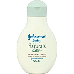 Johnson's Baby Soothing Naturals Nourishing Lotion (250ml) - Pack of 6